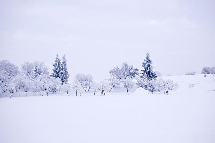 Romania frumusetea iernii