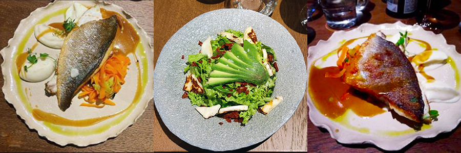 Kupaj - Restaurant Cluj - Preparate cu Pește și Salată Vegetariană