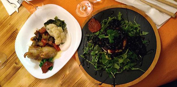 Restaurant A Camponeza Cluj - Preparat Vegetarian