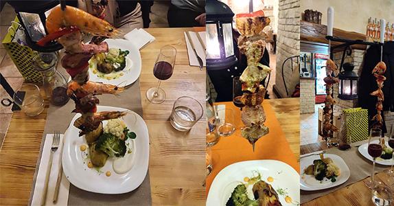 Restaurant Cluj - A Camponeza: Espetadas