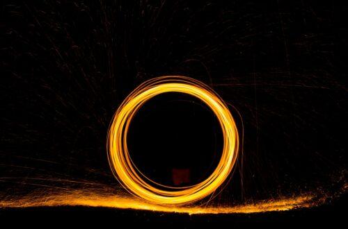 În cercuri